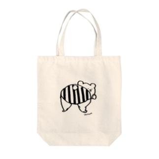 しりくま Tote bags