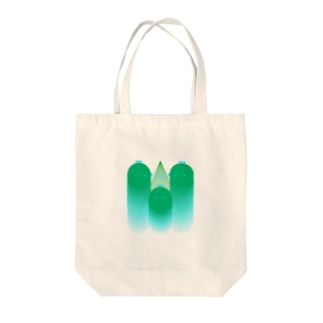 緑化鶏頂 Tote bags