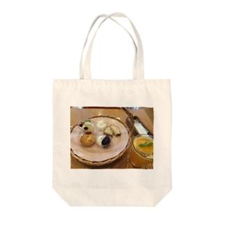 デザート Tote bags