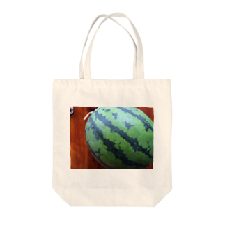 hrkのスイカ Tote bags