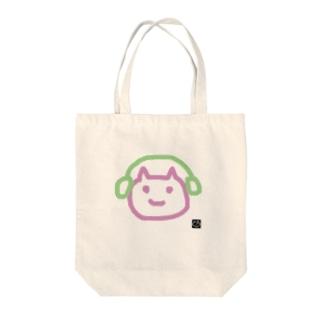 きくねこ Tote bags