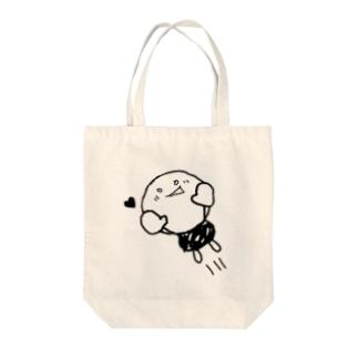 まるくん Tote bags