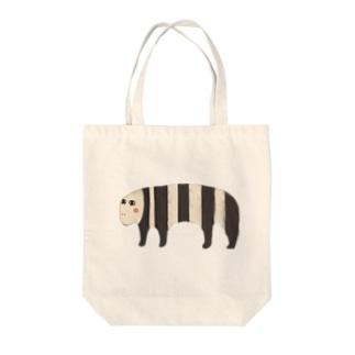 ハナノアナ Tote bags