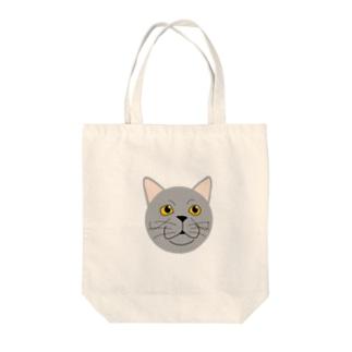 猫のねこはちちゃん Tote bags