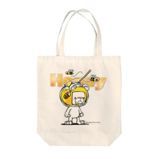Honeryシュガ~ Tote bags