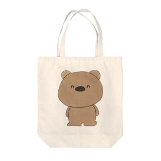 にこにこくまくん(heazu) Tote bags