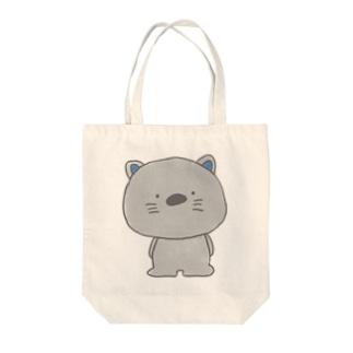 ねこさん(heazu) Tote bags