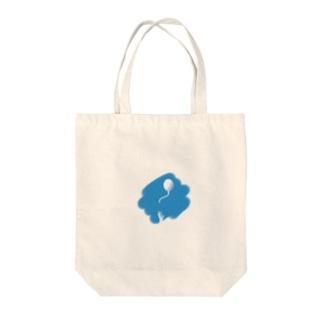 届かないヘリウムガス Tote bags
