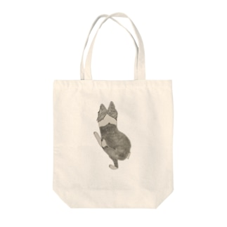 I♥︎BORDER COLLIE play bow series Tote bags