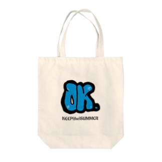 KEEP(the)SUMMERのOK. Tote bags