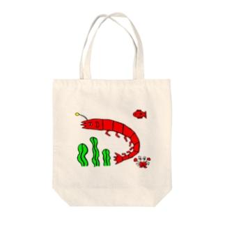 うみの仲間たち Tote bags