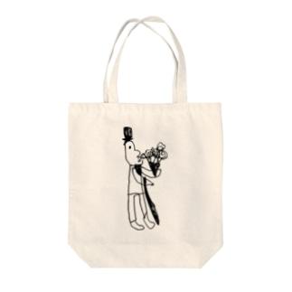 アルフレッド博士 Tote bags