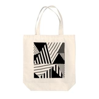 GEOMETRICK001 Tote bags