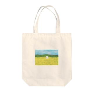 みどりと、お花と、山と、 Tote bags