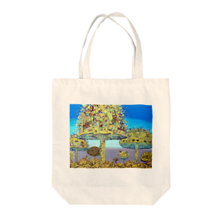 A・T   shopのparallel world No.1 Tote bags