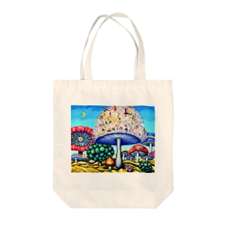 parallel world No.24 -偉大なる挑戦- Tote bags