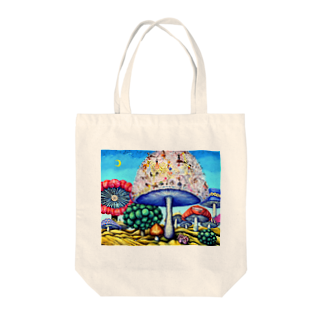 A・T   shopのparallel world No.24 -偉大なる挑戦- Tote bags