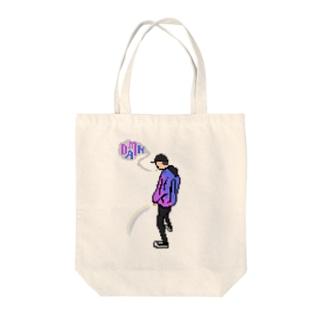 ドット DAMN Tote bags