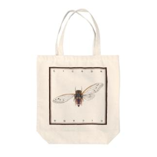 cicada / 蝉 Tote bags