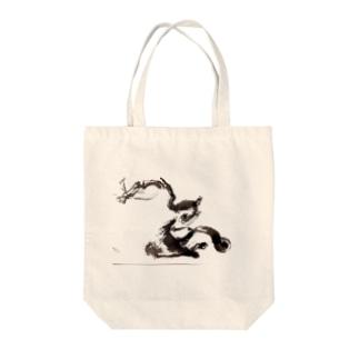 『龍国』日本 Tote bags