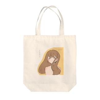 girl-3 Tote bags