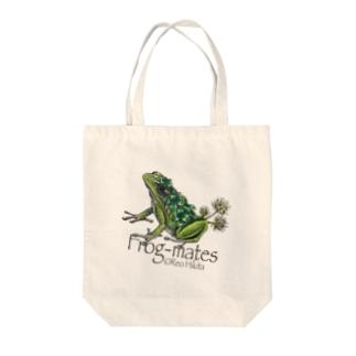 カエルメイトより「シロツメクサガエル」 Tote bags