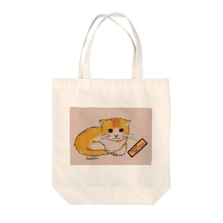 たまふぁーふぁ Tote bags