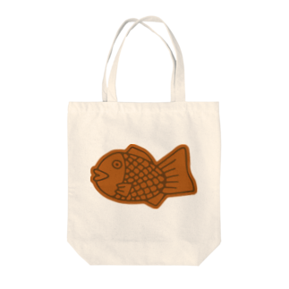 犬田猫三郎のたい焼き Tote bags
