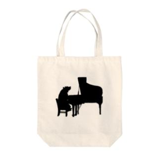 ピアニスト Tote bags