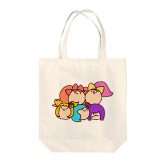 DOKAN組(顔) Tote bags