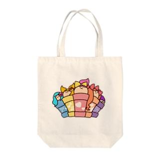 DOKAN組(全員集合) Tote bags