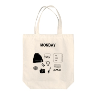 MONDAY Tote bags