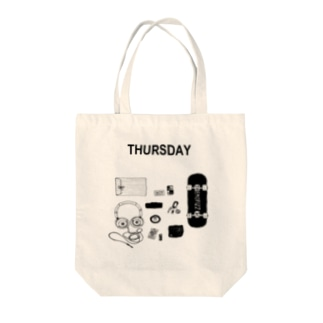 THURSDAY Tote bags