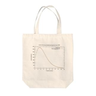 宇宙マイクロ波背景放射 Tote bags