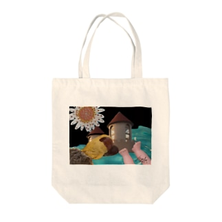 揚げ足取り Tote bags