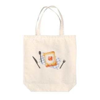 マヨたまトースト Tote bags