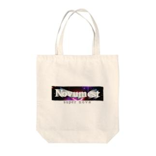 Novum est Tote bags