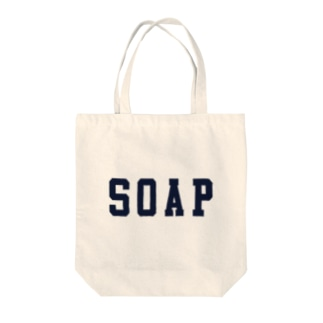 SOAPロゴ Tote bags