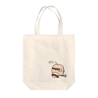 おっちゃん(ぷにっ) Tote bags