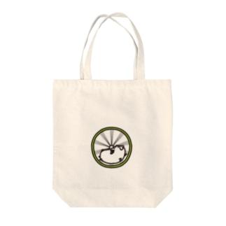 ハムハム グルグル Tote bags