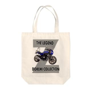 Doremi 900RS Blue Cat Tote bags