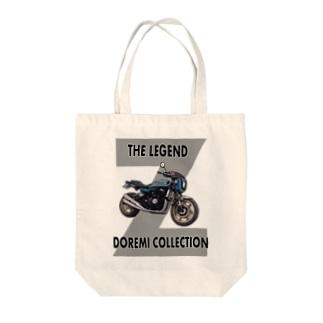 Doremi 900RS Blue Tote bags