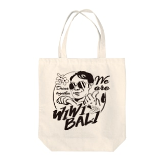 WIWIBALI ロゴマーク トートバック Tote bags