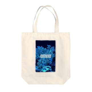 under the sea 珊瑚 Tote bags