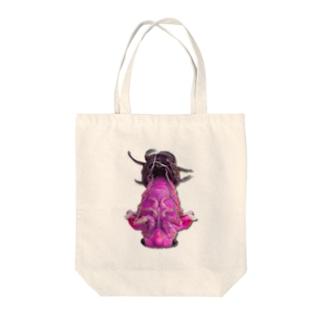 蝉の羽化 ピンク Tote bags