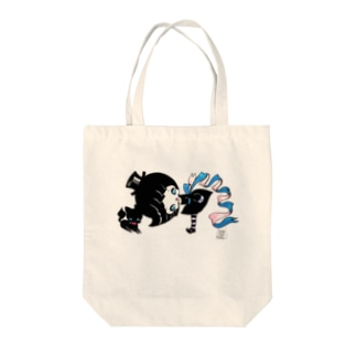 witch & cat Tote bags