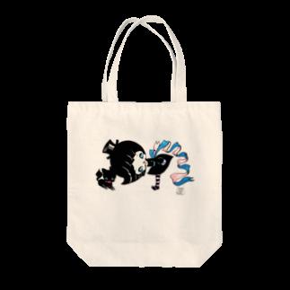 ShikaNiwa.Sandy.Jido.S.Alice.Ori.S.のwitch & cat Tote bags