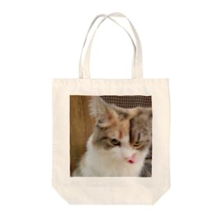 アニマル7 Tote bags