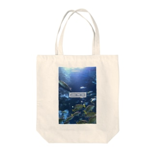 under the sea さかな Tote bags