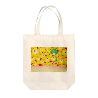 恋う Tote bags